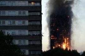 Παγιδευμένοι άνθρωποι μέσα στα 120 διαμερίσματα του πύργου στο Λονδίνο
