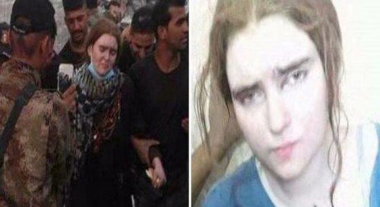 Η αποκαλούμενη 'νύφη του ISIS' εντοπίστηκε και συνελήφθη στη Μοσούλη